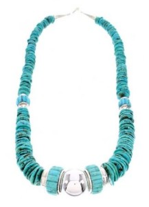 Chunky Turquoise Necklace picture