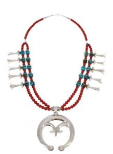 About the Long Turquoise Necklace