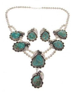 Turquoise Bib Necklace picture