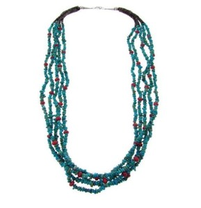 About the Turquoise Statement Necklace
