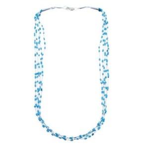 Multi-Strand Turquoise Necklace