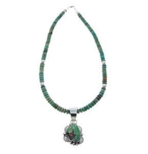 about the turquoise necklace